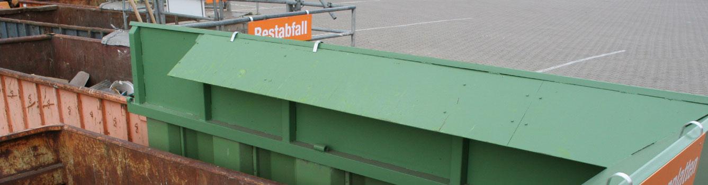Recyclinghof Schmalfeld Banner